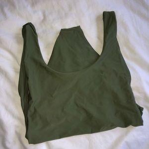 Army Green Swim Suit